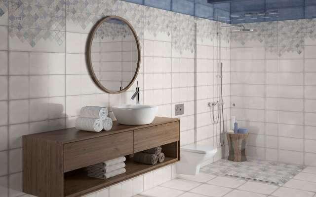 d7eae87fe Cersanit Majolica blue купить по цене 889 руб.✅Плитка для ванной ...
