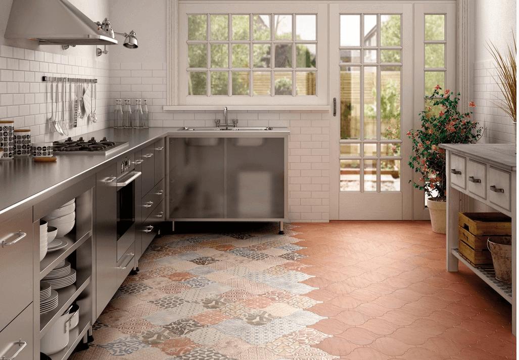для плитка фото керамогранит напольная кухни