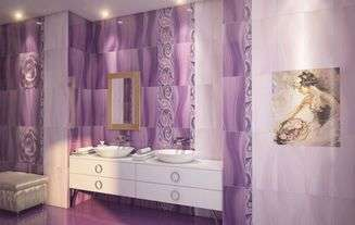 Настенная плитка Gracia ceramica Arabeski purple