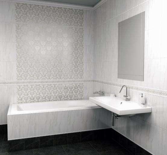 Дизайн ванной комнаты плиткой Керама Марацци (44 фото)