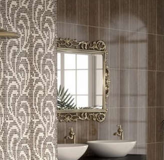 Плитку для ванной комнаты Saloni Ceramica