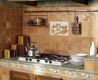 Фартук для кухни фото из плитки своими руками