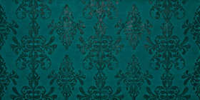 Petroleum Green Damask (800x400)