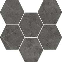Antracite Mosaico Hexagon (290x250)