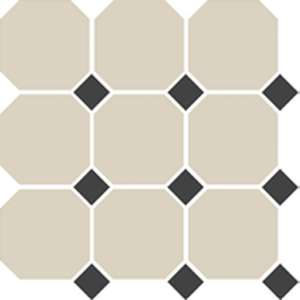 4416 Oct14-1ch White Octagon 16/Black Dots 14 (300x300)