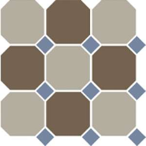 4401+29 Oct11-A Beige 01 Coffe Brown 29 Octagon/Blue Cobalt 11 Dots (300x300)